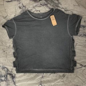 American Eagle Outfitters Tops - 🖤2/$15 AE Cut-Out T-Shirt
